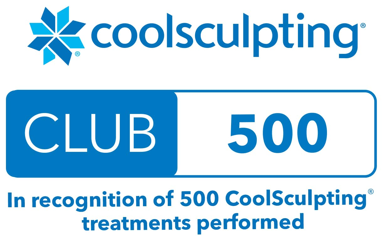 coolsculpting 500 club website badge