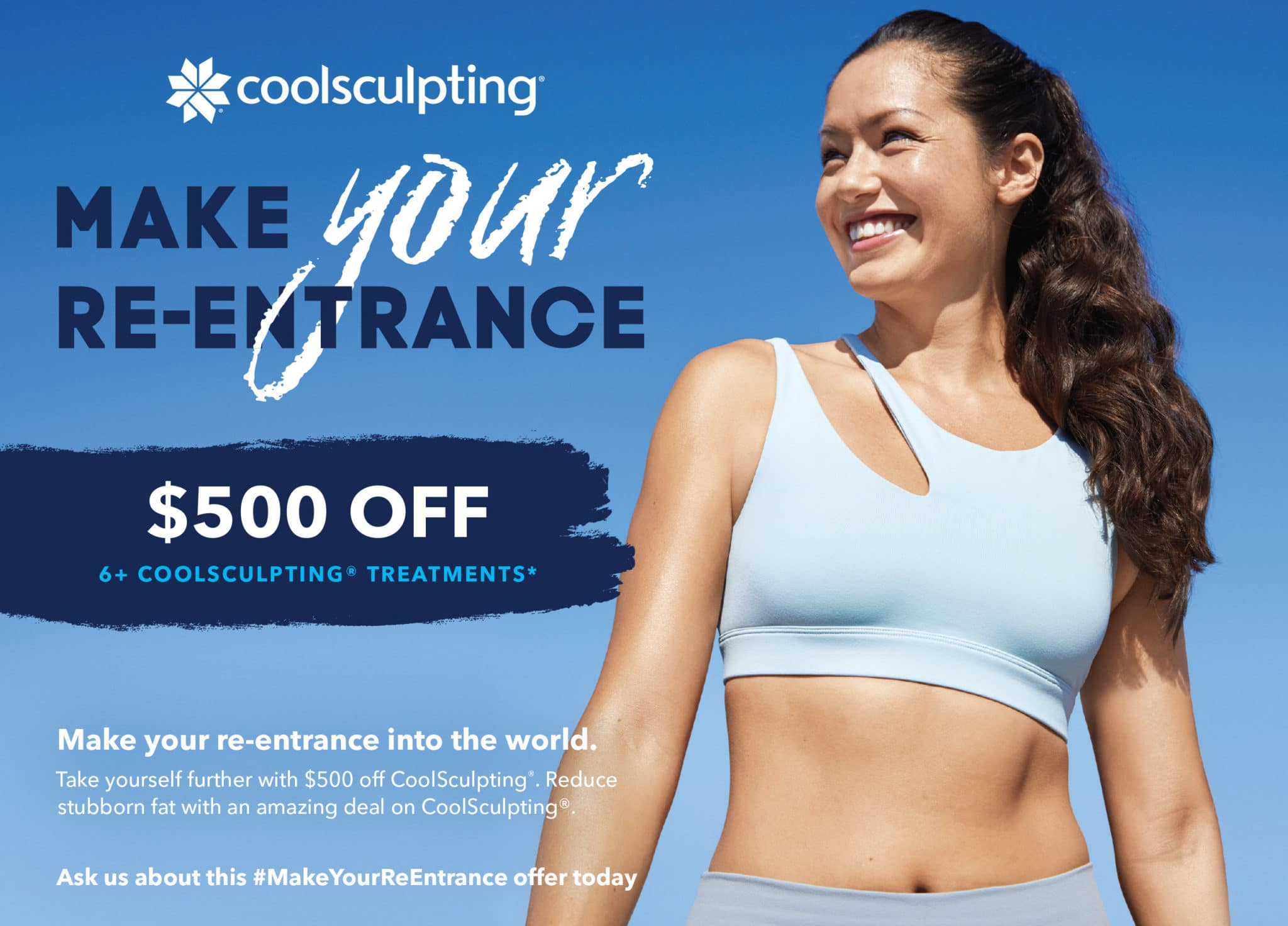 Coolsculpting Make your re entrance