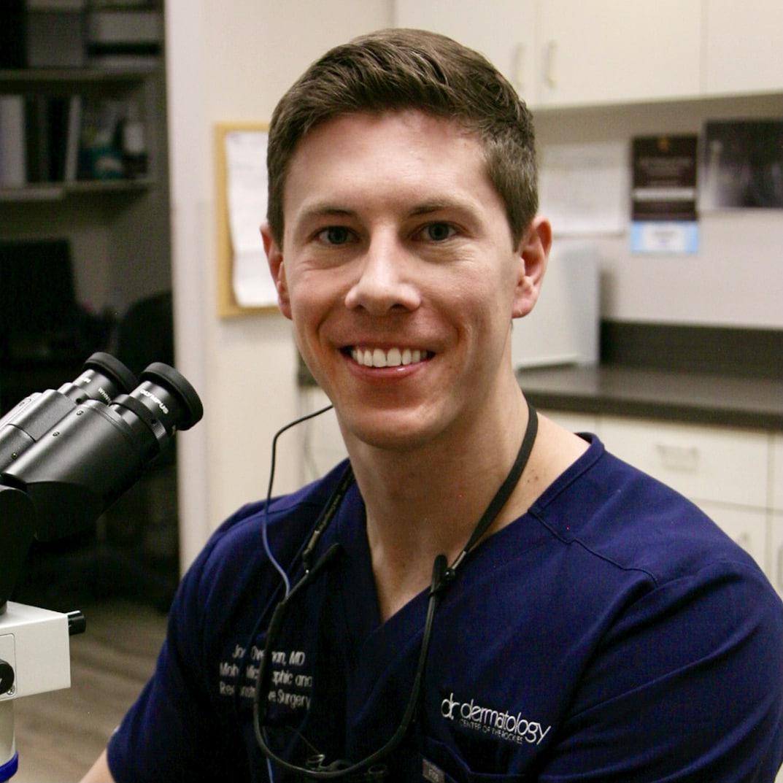 Joe overman Mohs Surgeon dermatology skin cancer