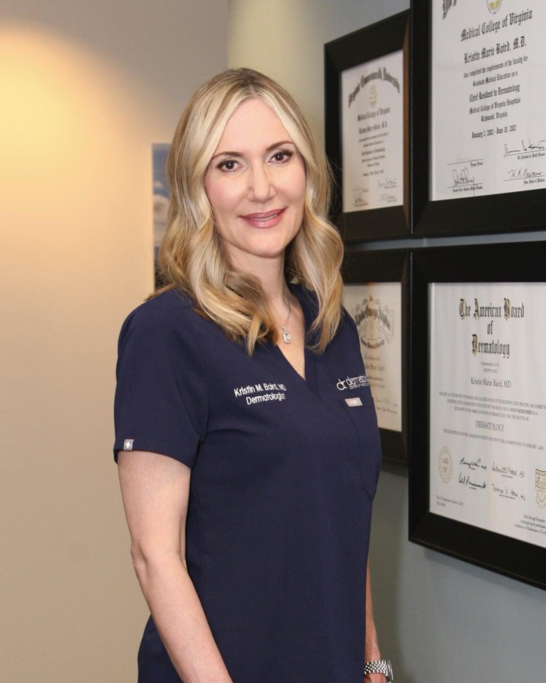 Kristin Baird Board Certified Dermatologist