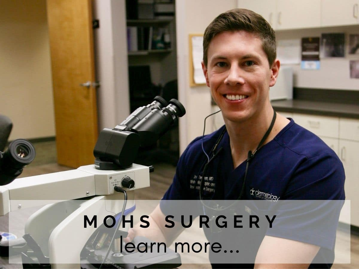 Mohs Surgery skin cancer center at dermatology center of the rockies